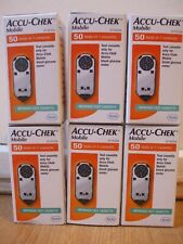 BRAND NEW SEALED ACCU CHEK MOBILE CHECK CASSETTE 50 TESTS EXP 12/2020