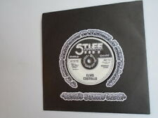 "ELVIS COSTELLO Less Than Zero UK 7"" single Stiff BUY11 1977 near mint"