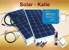 200Watt Wohnmobil WoMo Solaranlage 12/24V Set mit Victron Smartsolar MPPT 75/15