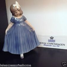 Royal Copenhagen Figuras no.2444 - Bailando Girl - Royal Copenhagen Estatuilla
