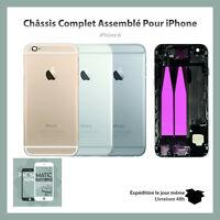 Châssis coque arrière iPhone 6 Or/Argent/Noir de remplacement 100% Neuf + Outils
