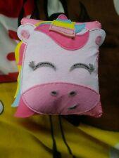 Handmade Pink Unicorn Cushion