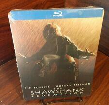 Shawshank Redemption Steelbook (Blu-ray) New (Sealed)-Free Box Shipping w/Track