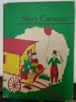 STORY CARAVAN Allyn and Bacon BASIC READER 1957 Dick & Jane Style School Book