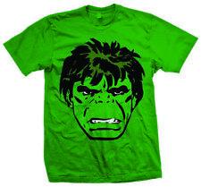 Hulk Big Head Men's T-shirt Green XL