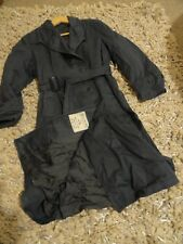 ORG 1957 MENS / LADIES N3 CANADIAN VINTAGE TRENCH COAT OLD MILITARY ARMY JACKET