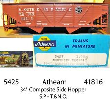 Southern Pacific  T&NO 34' Composite Side Hopper   NIB  Athearn