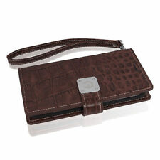 Synthetic Leather Wallet Cases with Strap for iPhone 5s