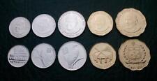 Samoa Exotic Oceania Coins Set of 5 Pcs , 10 20 50 Sene 1 2 Tala 2011 , Unc