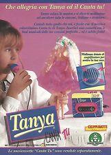X7963 Tanya - Canta Tu - Giochi Preziosi - Pubblicità 1994 - Vintage advertising