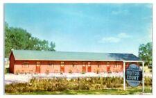 Adirondack Motor Court, Saratoga Springs, NY Postcard