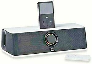 Speakers Logitech Audiostation Express Portable Multimedia Dock for Ipod