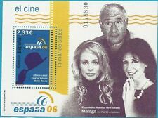 Spanien aus 2006 ** postfrisch Block 153 MiNr.4166 - Spanischer Film, ESPANA 06!