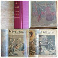 RELIURE ANNUELLE 1894 LE PETIT JOURNAL SUPPLÉMENT ILLUSTRÉ N° 164 / 215