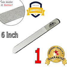 """6"""" Double Sided Diamond Deb Nail Files Rough Surface Straight File Manicure Tool"""