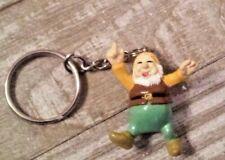 Snow White dwarf Happy Key chain new