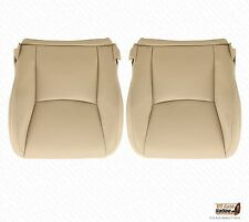 2005 2006 Lexus GX470 Driver & Passenger Bottom Synthetic Leather Seat Cover Tan