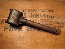 Antique Howe's Socket Mallet No.3. Pat'd Dec. 7, 1880 ~ old vtg collector tool