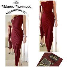 Vivienne Westwood Anglomaina Drape Dress Brand New Retails £375 Size 6- 8-10 Xs
