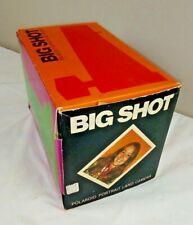 1970 retrato instantánea Polaroid Big Shot tierra Cámara. nuevo pero 1 ventanas rotas