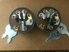 (2) Ignition Switches for Stens 430-070, John Deere Am102544, Gravely 044767