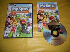 PC GAME-MY SIMS-EA-Computer-Gioco-Games-ITALIANO-ITA