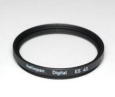 Heliopan UV Filter ES 43mm x 0,75 vergütet Slim - Made in Germany (NEU/OVP)