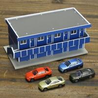 Outland Building Model N Gauge 1/150 Scale Scene Modern House Workman Dormitory