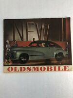 1946 Oldsmobile Dealer Brochure 28 Pgs Models 66 76 78 98 Coupe Woody Wagon