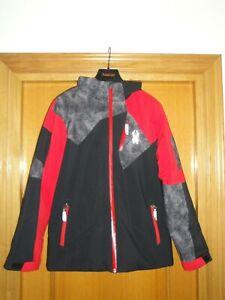 VESTE DE SKI JUNIOR SPYDER BLACK / RED cdi   taille 18 ans