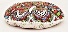 Mandala Round Floor Pillow Cover Indian Outdoor Ottoman Pouf Daybed Seat Cushion