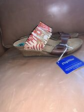NEW Papillio by Birkenstock DELLA Flower Frills Wedge Sandals - EUR size 39