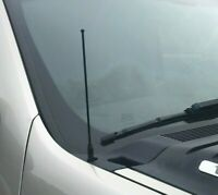 "2002-2005 Chevrolet Trailblazer 8/"" Black Stainless AM FM Antenna Mast FITS"