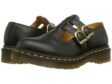 Women's Shoes Dr. Martens 8065 Leather Mary Jane 112916001 BLACK SMOOTH