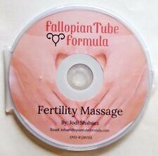 Fallopian Tube Formula Fertility Massage DVD - Infertility Blocked Endometriosis