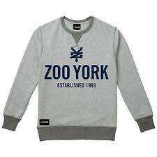 Mens ZOO YORK CREW Templeton - Crew Sweatshirt Grey Marl