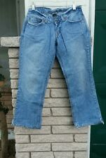"Blue jeans capri sz.0 Capri light wash Denim waist 28"" inseam 24"" Lucky Brand"
