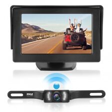 Pyle Waterproof Night Vision Wireless Rear View Camera w/ Distance Scale Lines