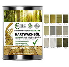 0,75L Hartwachsöl Hartwachs Öl Farbig 21,3€L Fußbodenöl Holzöl Möbelöl Parkettöl