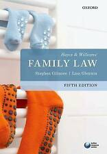 Hayes & Williams' Family Law, Good Condition Book, Glennon, Lisa, Gilmore, Steph