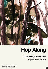 HOP ALONG 2018 BOSTON, MASS CONCERT TOUR POSTER - Folk / Indie / Acoustic Rock
