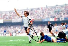 Michel PLATINI Signed FRANCE World Cup WINNER 12x8 Autograph Photo 1 AFTAL COA