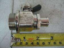 Caterpillar 3406 3406E & C15 EZ Oil Drain Valve & Straight Hose End EZ-205 H-002
