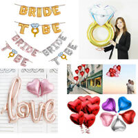 "16"" BRIDE TO BE Foil Balloons Wedding Balloon Bridal Hens Night Party Decor New"