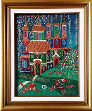Yuri Gorbachev Original Painting ,, Sammer Landscap ,,Oil on canvas,with C.O.A.
