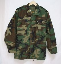 Vintage Winfield Army Men's X-SMALL Cold Weather Woodland Field Camo Jacket Size