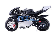 FREE SHIPPING KIDS 40CC 4 STROKE MINI BIKE GAS MOTOR SUPERBIKE BLACK I DB40A