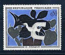 FRANCE TIMBRE NEUF N° 1319  **   TABLEAU LE MESSAGER DE BRAQUE