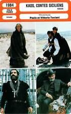 FICHE CINEMA : KAOS, CONTES SICILIENS - Lozano,Torrisi,Taviani 1984