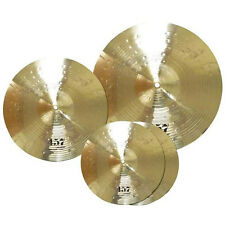 Wuhan 457 WU457 Cymbal Set Box Pack, Brilliant Finish, New! (Crash, Ride, Hats)